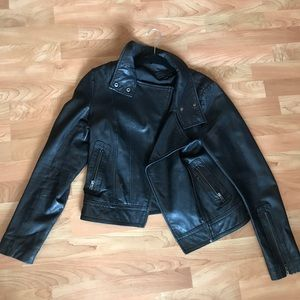 Mackage for Aritzia leather jacket size L